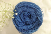 Royal Blue Fingering Lace Boucle Textured Craft Yarn