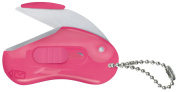 Raymay Beans Shaped Portable Mini Scissors Beans Cut, Pink