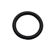 Tianbang Black 2.5cm Inner Diameter O Ring Non Welded Pack of 10