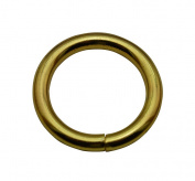 Tianbang Golden 3cm Inner Diameter O Ring Non Welded Pack of 6