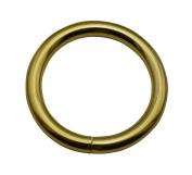 Tianbang Golden 3.8cm Inner Diameter O Ring Non Welded Pack of 4