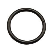 Tianbang Gun Black 2.5cm Inner Diameter O Ring Non Welded Pack of 10