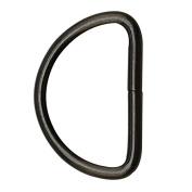 Tianbang Gun Black 5.1cm Inner Diameter D Ring D Rings Non Welded Pack of 4
