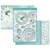 Hunkydory A Touch of Shimmer Love is in the Air Luxury Topper Set Card Kit