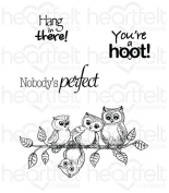 Heartfelt Creations Sugar Hollow - Sugar Hollow You're A Hoot stamps
