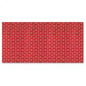 Fadeless 1369538 Pattern Art Paper Roll, 120cm x 370cm Size, Sulphite, Tu-Tone Brick