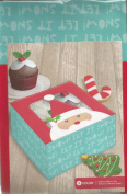 Cookie Exchange Cupcake Boxes with Window Santa Claus