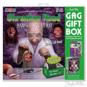 Shrunken Head Kit Joke Novelty GIFT BOX