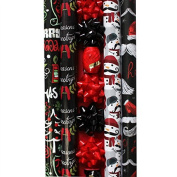 Chalkboard Theme Deluxe Wrapping Paper - 4 Rolls