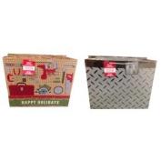 Christmas Heavy Duty 48cm x 38cm x 25cm Large Deluxe Paper Handled Gift Bag