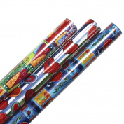 Watercolour Valentine's Day Wrapping Paper - 3 Rolls