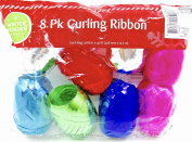Curling Ribbon,8x,0.5cm X 12m