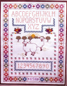 """Counted Cross Stitch Kit """"Nathan's Sampler"""""""