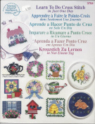 LEARN TO DO CROSS STITCH IN JUST ONE DAY PATTERN LEAFLET