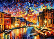 Home Decoration DIY Printed Needlework Sets Counted Cross Stitch Kits Embroidery Kits, Venice Landscape
