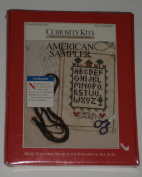 """American Sampler"" Needlepoint Kit"