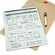OLizee™ Lightweight Portable Whiteboard Dry Erase Board with Marker