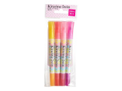 Kirarina 2Win Scented Marker Set Of 4 Flower