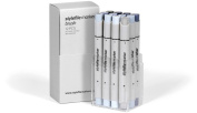 Brush Stylefile Marker Set of 12 - Cool Grey Set
