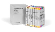Brush Stylefile Marker Set of 48 - Extended Set