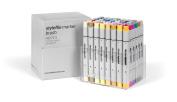 Brush Stylefile Marker Set of 48 - Extended Set