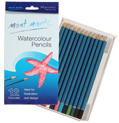 Home Office U.D. - Art Supplies Bulk Painting Water Colour Coloured Pencils Drawing for Adults 12 Count