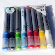 MTN 3mm Water Based Paint Markers 8-pack By Montana Colours
