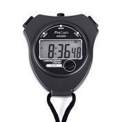 ProCoach Sports Stopwatch Timer RS-2009 - Extra Large Display | Ideal for Coaches, Runners and Professional Athletes