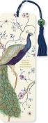 Peacock Beaded Bookmark