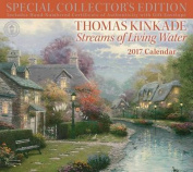Thomas Kinkade Special Collector's Edition 2017 Deluxe Wall Calendar