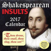 Shakespearean Insults 2017 Day-To-Day Calendar