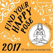 2017 Find Your Happy Pose Boxed Calendar