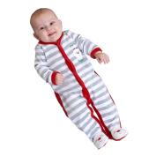 Striped Santa Sleepsuit