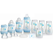 MAM Self-Sterilising Anti-Colic Bottle Starter Set in Blue