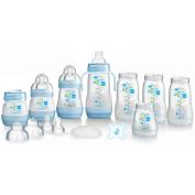 MAM Self-Sterilising Anti-Colic Bottle Starter Set in Blue