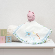 George Pig Comfort Blanket for baby By Rainbow Designs.