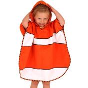 LittleLife UltraLight Poncho Towel - Clownfish