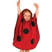 LittleLife UltraLight Poncho Towel - Ladybird
