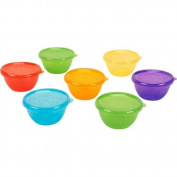 . Bowls with Lids - 7 Pack