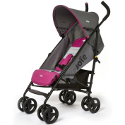 Joie Nitro Stroller in Charcoal Pink