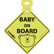 Bruin Baby on Board Sign