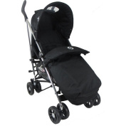 Babylo Mett Pushchair in Black