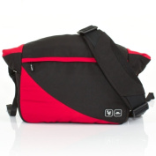 ABC Design Courier Changing Bag - Cranberry