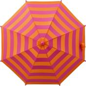 Adjustable Parasol in Orange and Pink Stripe