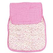 Reversible Pushchair Liner - Pink