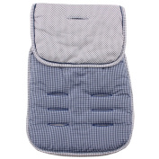 Reversible Pushchair Liner - Blue
