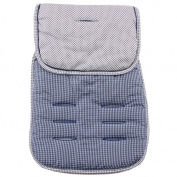 Reversible Pushchair Liner - Blue