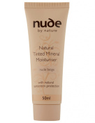 Nude By Nature Tinted Moisturiser - Beige, 50ml