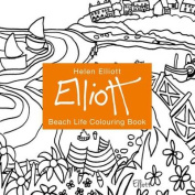 Helen Elliott Beach Life Colouring