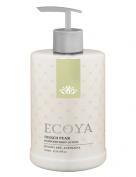 Ecoya Hand & Body Lotion - French Pear, 500ml